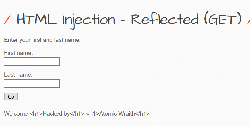 bwapp html injection how to 3