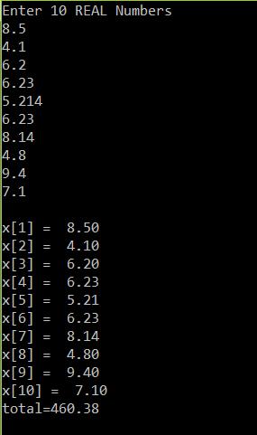 C program to evaluate expression